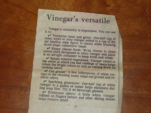 vintage clipping