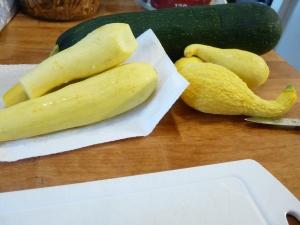 zuchinni summer squash casserole 001