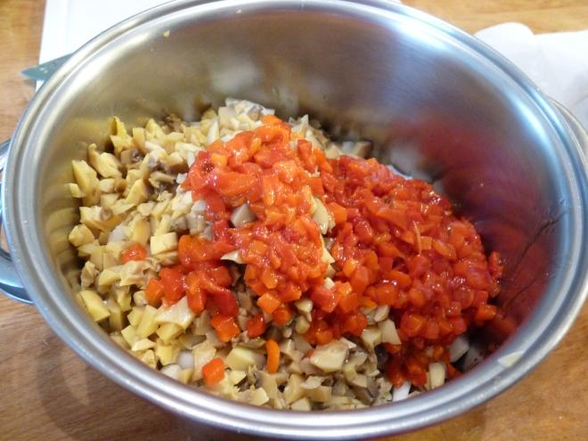 zuchinni summer squash casserole 012