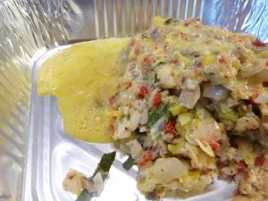 zuchinni summer squash casserole 017