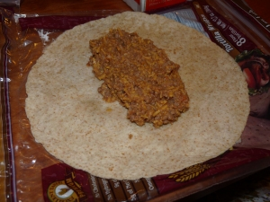 beef bean and cheese burritos 005