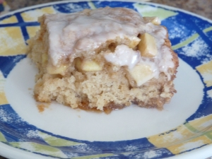 Homemade Enchiladas and Apple Fritter Cake 008