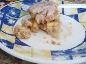 Homemade Enchiladas and Apple Fritter Cake 016