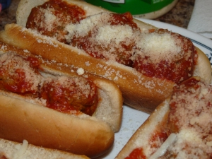 Quick and Easy Meatball Sammies 010
