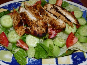 Grilled Chicken Salad 001