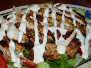 Grilled Chicken Salad 009