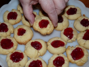 Thumbprint Cookies 001