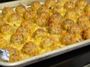 Turkey and Sausage Breakfast Balls 001
