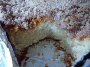 coffee cake and crockpot brownies 052
