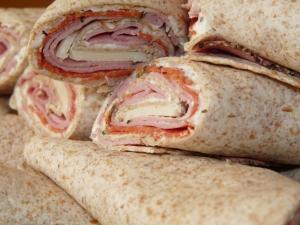 Italian Pastrami Wraps 016