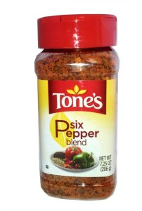 Tones Six Pepper Blend