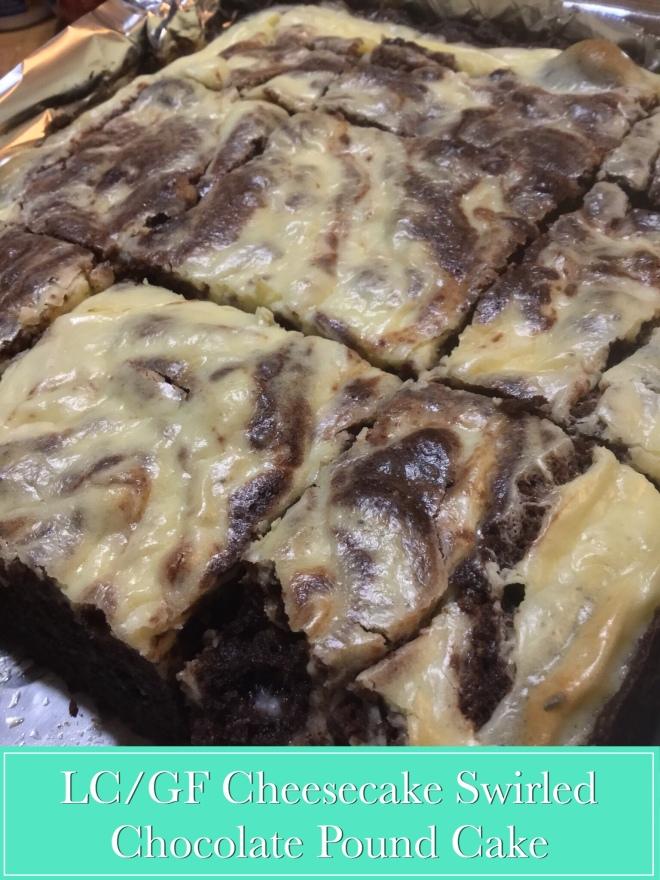 Lc Gf Cheesecake Swirled Chocolate Pound Cake Night Owl Kitchen